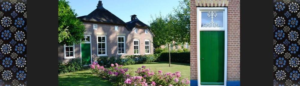 Header homepage Bed and breakfast De Molenstee in Staphorst